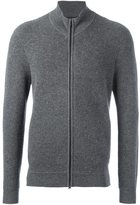 Z Zegna zipped cardigan