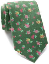 Tommy Hilfiger Linen Darcy Flower Tie