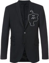 Neil Barrett graphic print blazer
