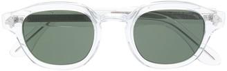 Cutler & Gross transparent frame sunglasses