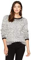 Pendleton Women's Soft Textured Pullover Sweater