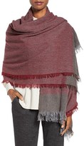 Eileen Fisher Women's Colorblock Wool & Cashmere Wrap