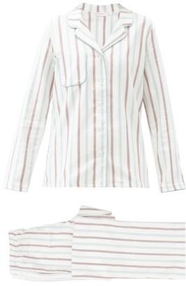 Derek Rose Striped Cotton Pyjamas - Multi