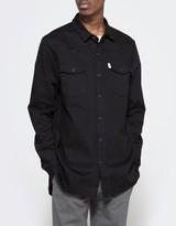 Off-White Brushed Denim Shirt