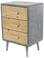 Modern 3-Drawer Rectangular Chest