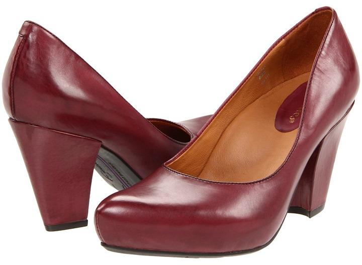 Earthies Talera (Merlot Premium Calf) - Footwear