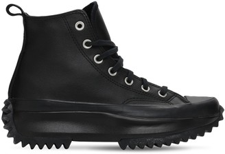 Converse Run Star Hike Hi Leather Sneakers