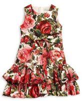 Dolce & Gabbana Toddler's, Little Girl's & Girl's Roseto Ruffle Dress
