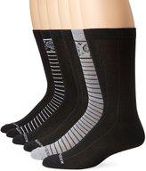 Steve Madden Men's 6 Pack Paisley Fashion Crew Socks