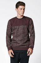 Hurley Surf Club Lineup Crew Neck Sweatshirt