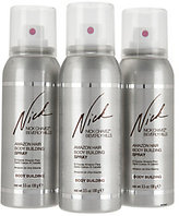 Nick Chavez Amazon Body Building Hairspray 3.5oz Trio Gift Set