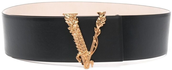 Thumbnail for your product : Versace Virtus leather belt