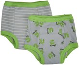 green sprouts by i play. Training Pants 2 Pack Monster (Toddler) - Gray-3T