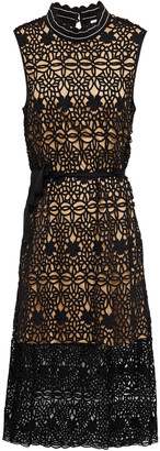 Claudie Pierlot Crocheted Lace Mdi Dress
