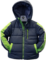 Hawke & Co Sharkskin Hi-Tec Coated Poly Bubble Coat - Boys
