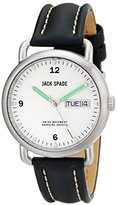 Jack Spade Men's WURU0121 Stillwell Stainless Steel Watch with Leather Band