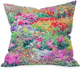 DENY Designs Secret Garden 1 Throw Pillow