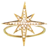 Sydney Evan Starburst Ring - Yellow Gold
