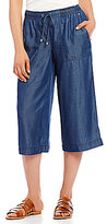 Jones New York Denim Gaucho Pants