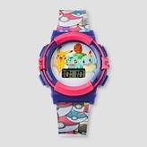 Girls' Pokemon LCD Watch - Multi-Colored