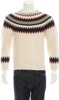 Ami Alexandre Mattiussi Patterned Wool Sweater