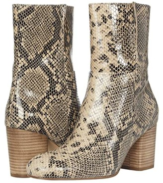 Seychelles Wild Ride (Black/Natural Python) Women's Boots