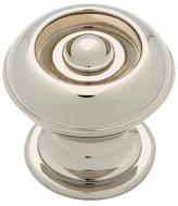 Martha Stewart Living 1-1/8 In. Button Cabinet Hardware Knob