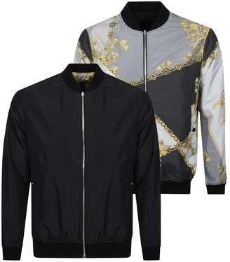 Versace Reversible Jacket Grey