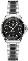 Tag Heuer F1 ladies' black ceramic bracelet watch