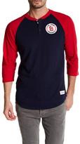 Mitchell & Ness MLB Cardinal Unbeaten Henley Shirt