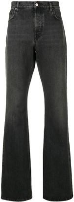 Balenciaga Bootcut Loose Fit Jeans