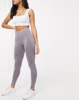 Asos Design DESIGN legging in marl