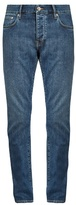 Burberry Tapered-leg Cotton-blend Denim Jeans