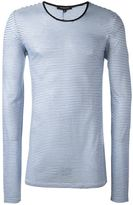 Unconditional striped long sleeved T-shirt