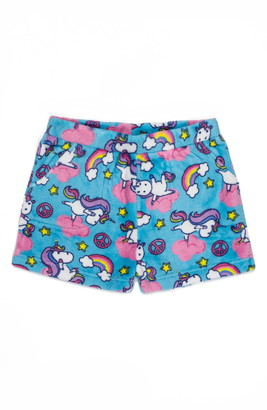 Candy Pink Yogacorn Fleece Pajama Shorts