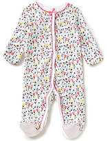 Starting Out Baby Girls Newborn-6 Months Floral-Print Footed Coverall