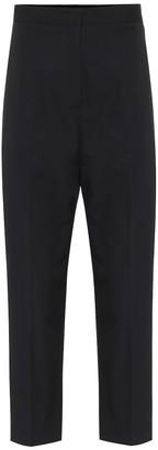Jil Sander High-rise cotton straight pants