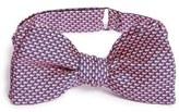 Vineyard Vines 'Micro Whale' Print Silk Bow Tie