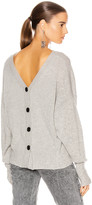Isabel Marant Caleb Sweater in Grey | FWRD