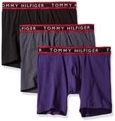 Tommy Hilfiger Men's Underwear 3 Pack Cotton Stretch Boxer Briefs