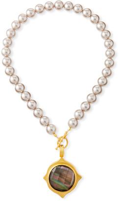 Dina Mackney Pearl-Strand Pendant Necklace