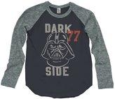 Junk Food Clothing Youth Boy's Dark Side Raglan