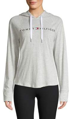 Tommy Hilfiger Performance Logo Lightweight Hoodie