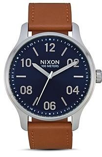 Nixon Patrol Blue Dial Watch, 44mm