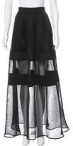 Alexis Mesh Midi Skirt