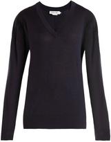 Frame V-neck wool sweater