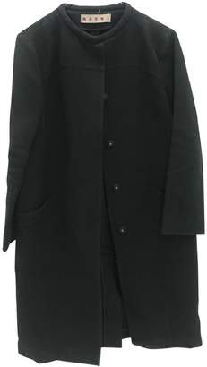 Marni Black Cotton Coat for Women