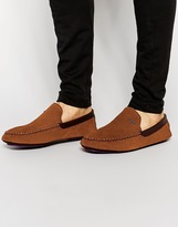 Ted Baker Maddoxx Slippers - Brown