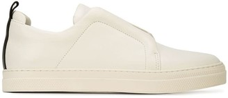 Pierre Hardy Leather Slider Sneakers