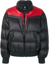 Marcelo Burlon County of Milan cropped puffer jacket